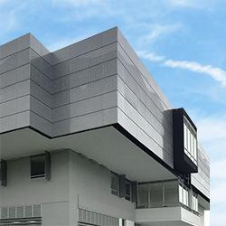 Fachada en Paneles de Aluminio Punzonado de 1,5mm